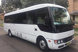 Mitsubishi Rosa 24 seats