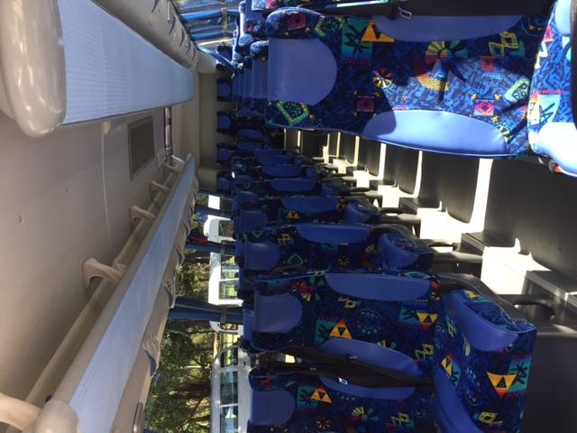 33s Coach Interior