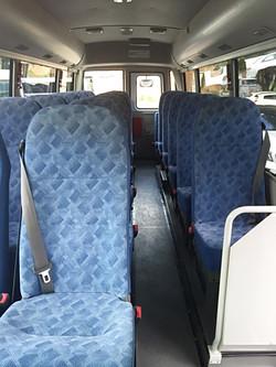 Mitsubishi 21 seats interior