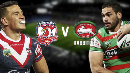Sydney Roosters vs South Sydney Rabbitohs on 7th July