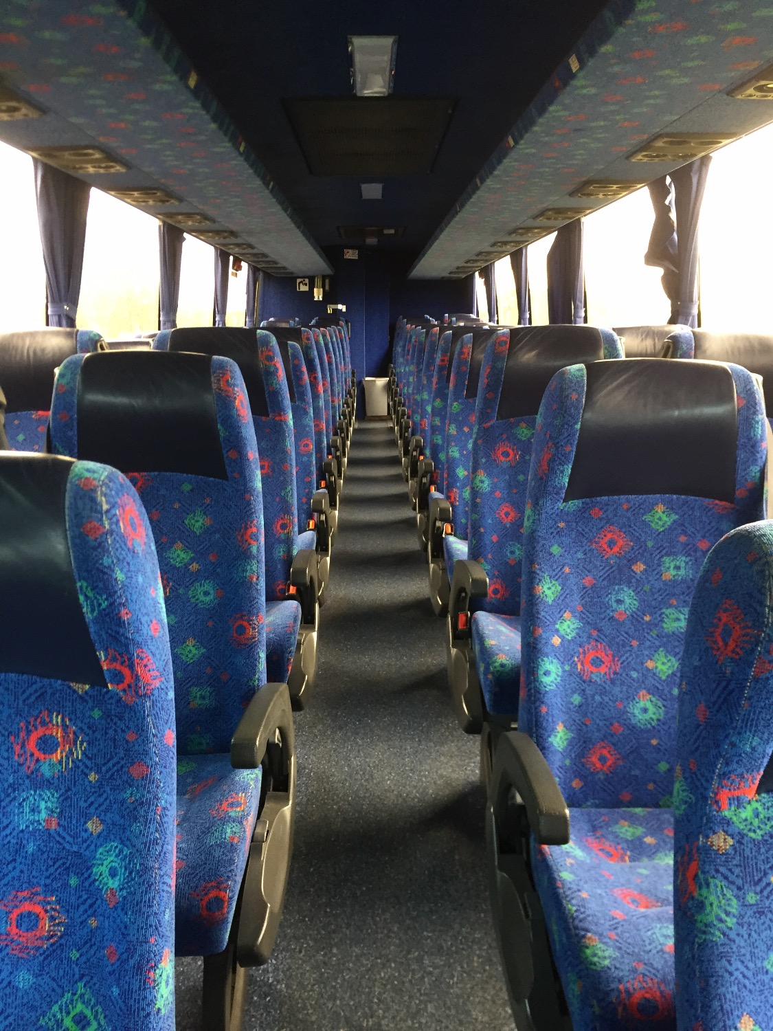 Volvo 50s Coach Interior