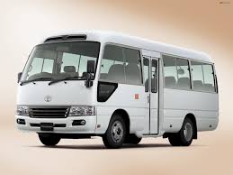 Toyota Coaster 20 seats mini bus