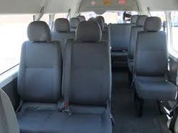Toyota Hiace Interior