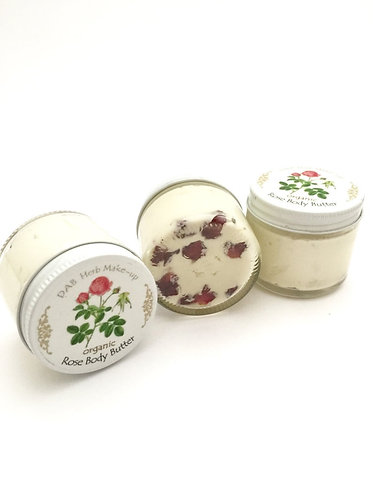 Organic Rose Body Butter