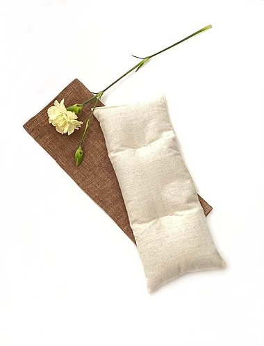 Weighted Flax Seed Eye Pillow with Case