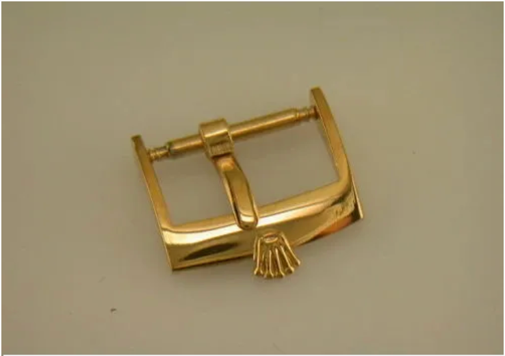 Vintage Rolex Gold Colored Buckle