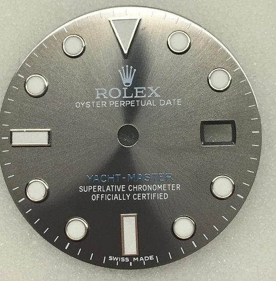 Refined Yacht-Master Rhodium Dial