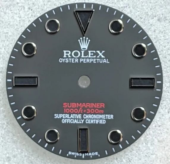 Refined Rolex Submariner Matte Grey Dial 1000ft/300m