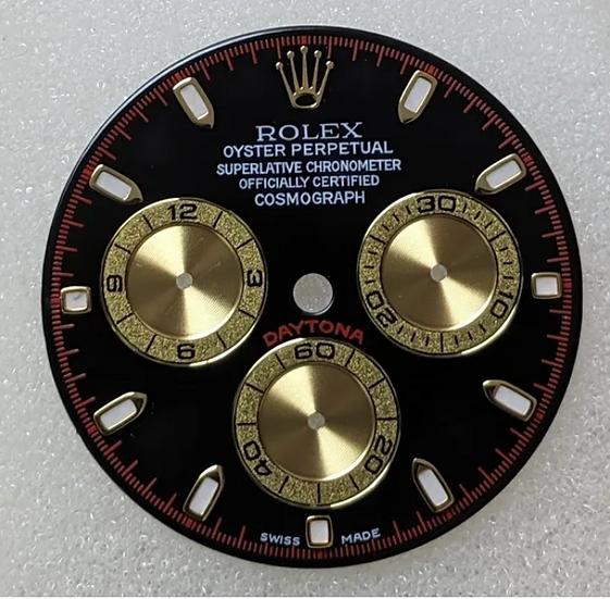 Cosmograph Daytona Black Dial