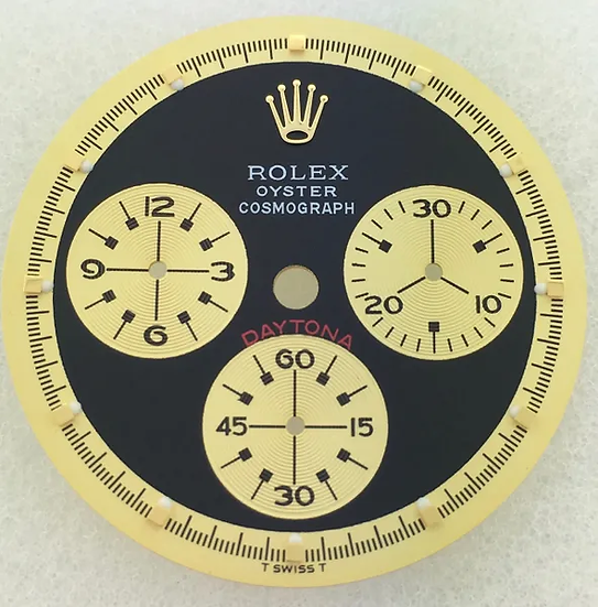 Refined Rolex Daytona Paul Newman Black Dial