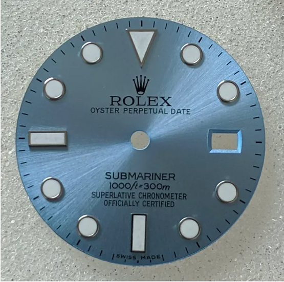 Refined Rolex Submariner Ice Blue Dial 1000ft/300m