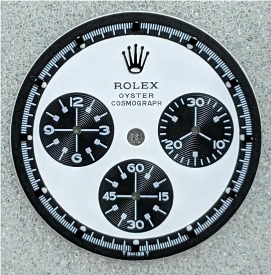 Rolex Paul Newman White Dial