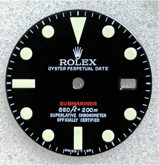 Rolex Submariner Black Dial 660ft/200m