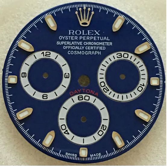 Refined Cosmograph Daytona Blue Dial
