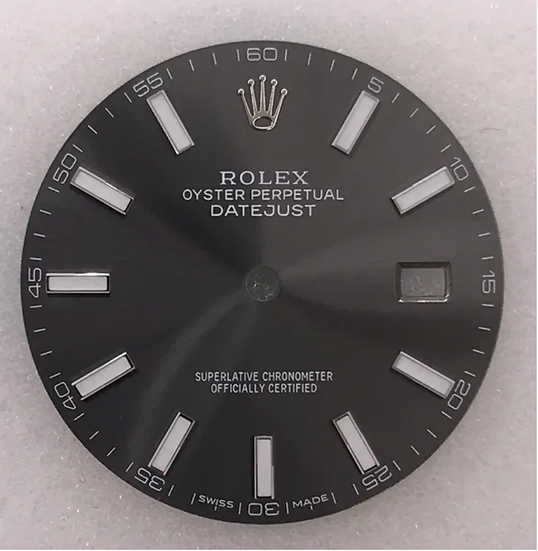 Refined Rolex Datejust II Dial
