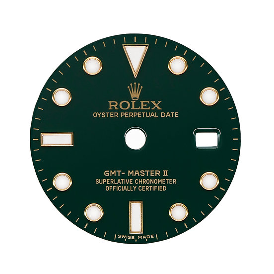 Refined Rolex GMT-Master II Green Dial