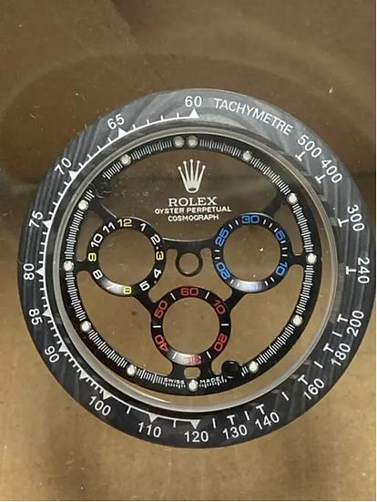Refined For Rolex Daytona Skeleton Dial F1 Montoya Style
