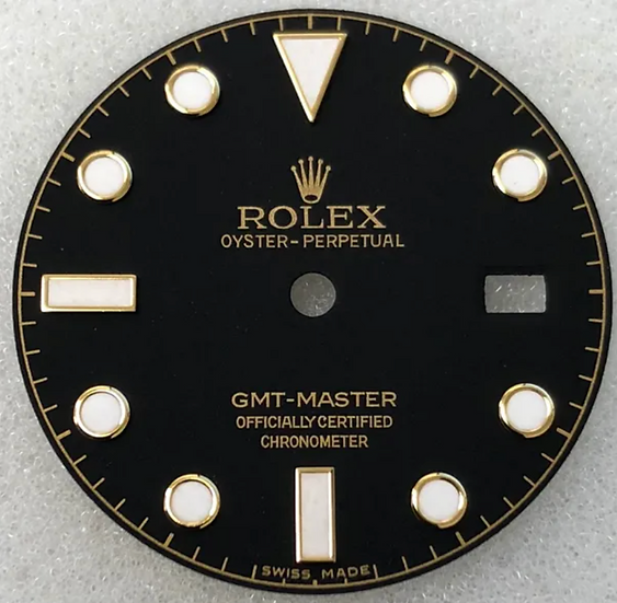 Refined Rolex GMT-Master Black Dial