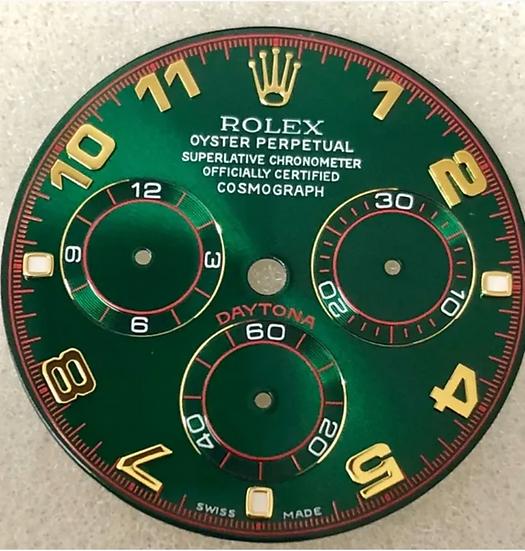 Refined Cosmograph Daytona Green Racing Dial