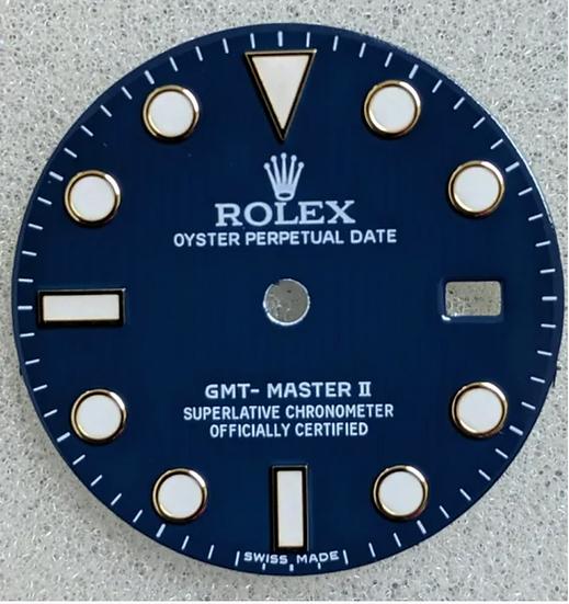 Rolex GMT-Master II Blue Dial