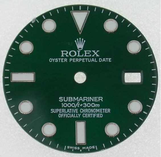 Rolex Submariner Green Dial 1000ft/300m