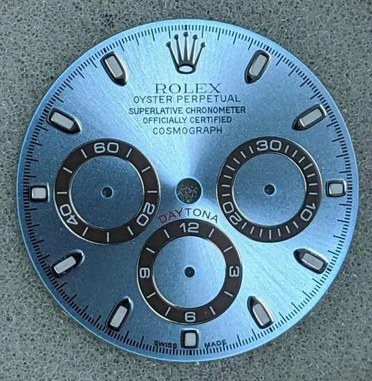 Cosmograph Daytona Blue Ice Dial