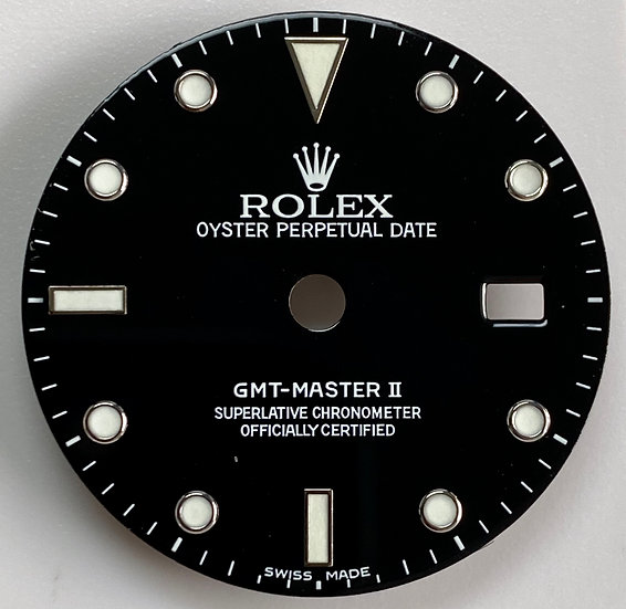 Rolex GMT-Master II Black Dial small dots