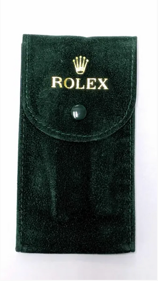 Green Velvet Pouch (Pack of Ten)
