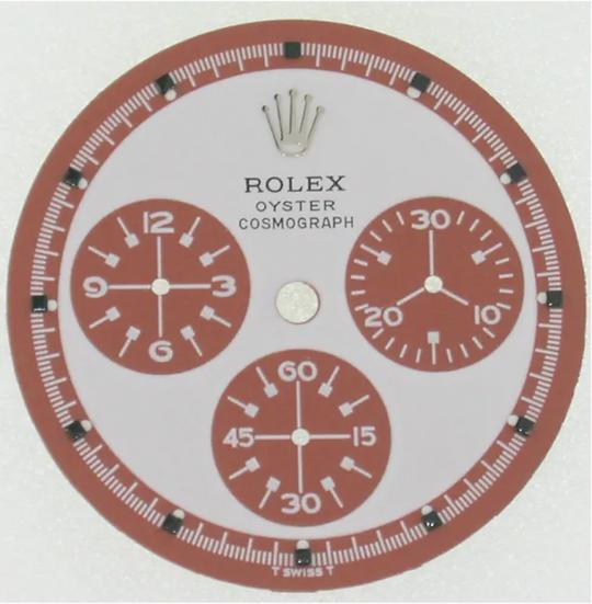 Refined Rolex Paul Newman White Dial