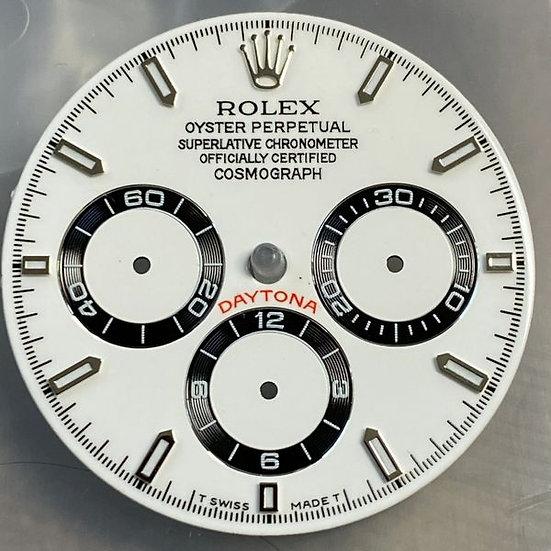 Refined Rolex Cosmograph Daytona White Dial