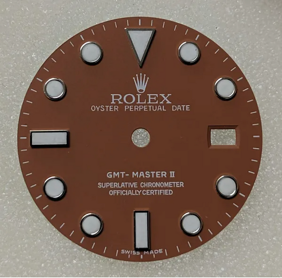 Refined Rolex GMT-Master II Tan Dial