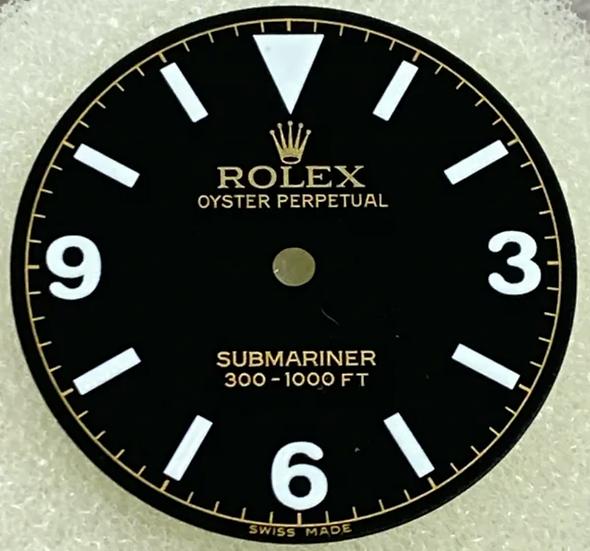 Refined Rolex Submariner Black Dial