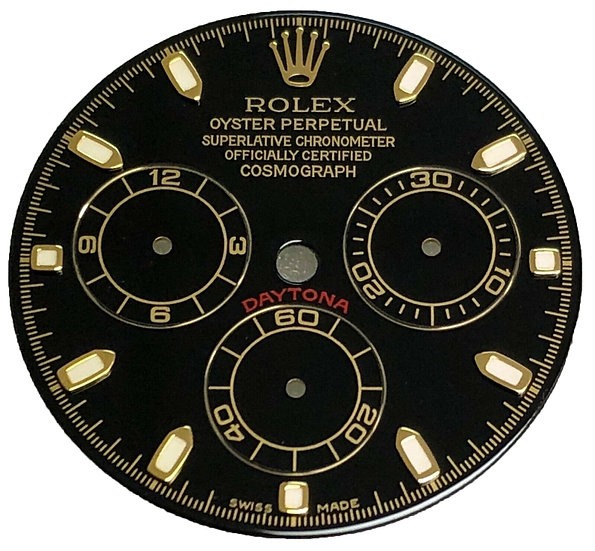 Refined Rolex Daytona Cosmograph Black Dial