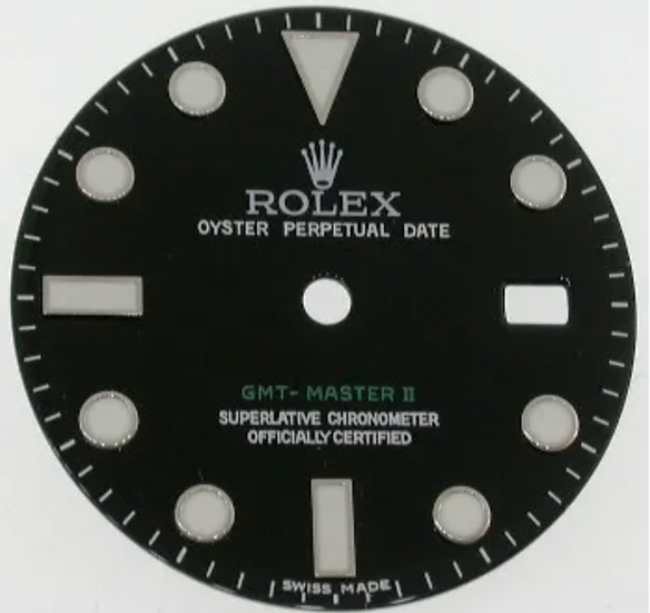 Rolex GMT-Master II Black Dial