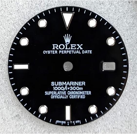 Rolex Black Submariner Dial