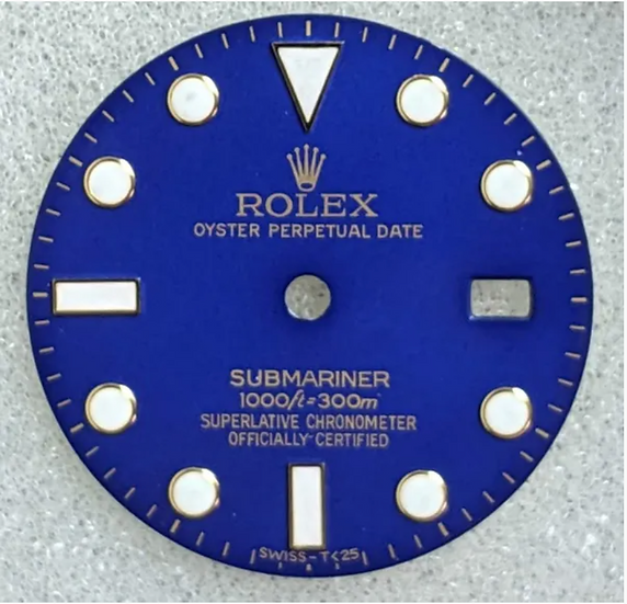 Refined Rolex Submariner Blue Dial 1000ft/300m