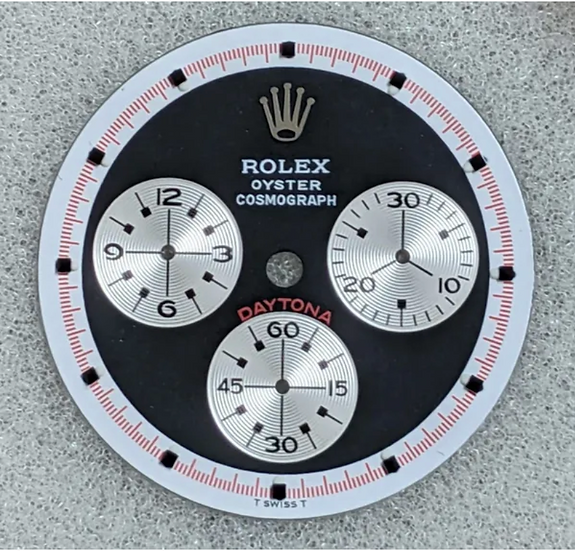 Refined Rolex Paul Newman Black Dial