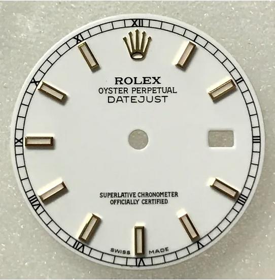 Refined Rolex Datejust II Dial
