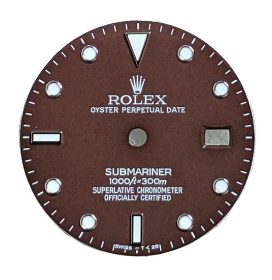 Rolex Brown Submariner Dial 1000ft/300m