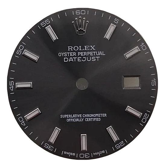 Refined Datejust Rhodium Dial