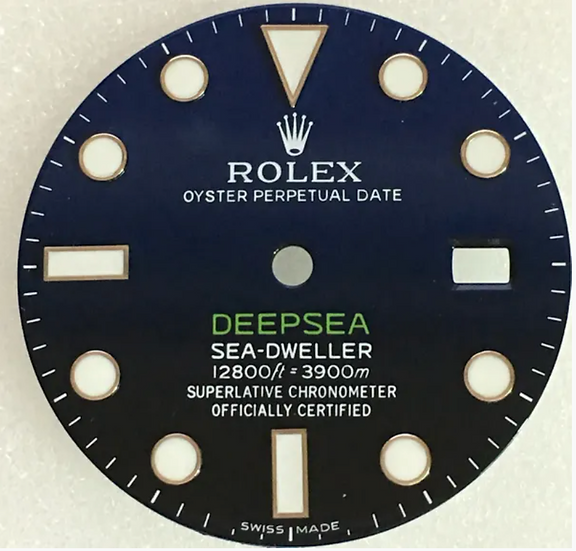 Refined Rolex DeepSea Sea-Dweller Blue Dial