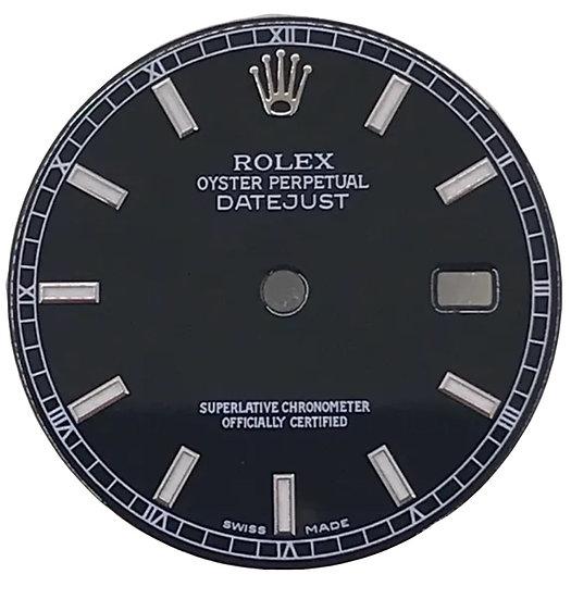 Datejust Black Dial