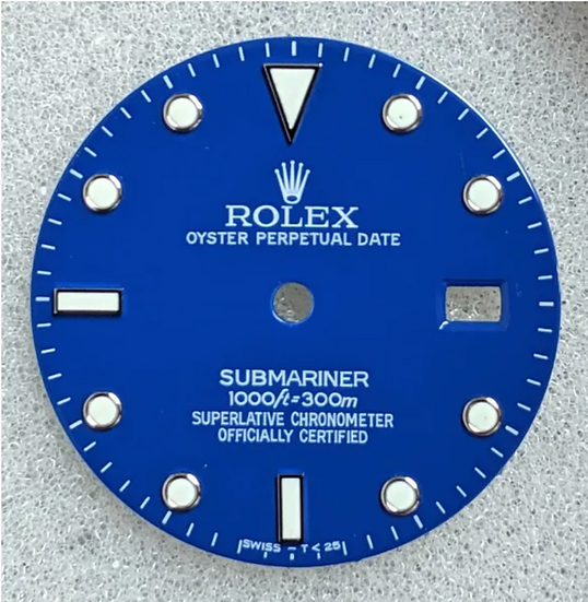 Rolex Blue Submariner Dial 1000ft/300m