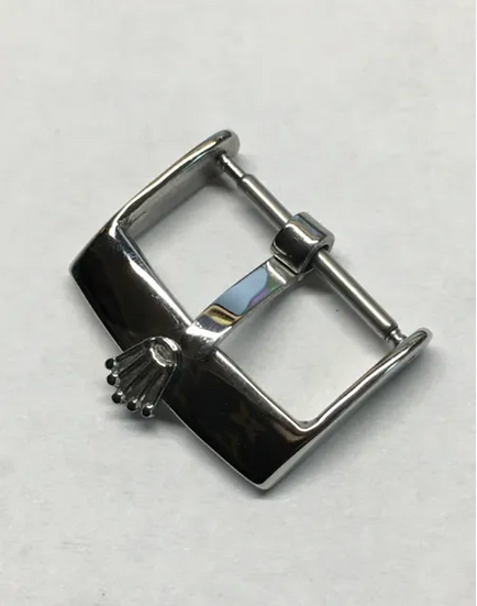 Vintage Rolex Style Stainless Steel Buckle