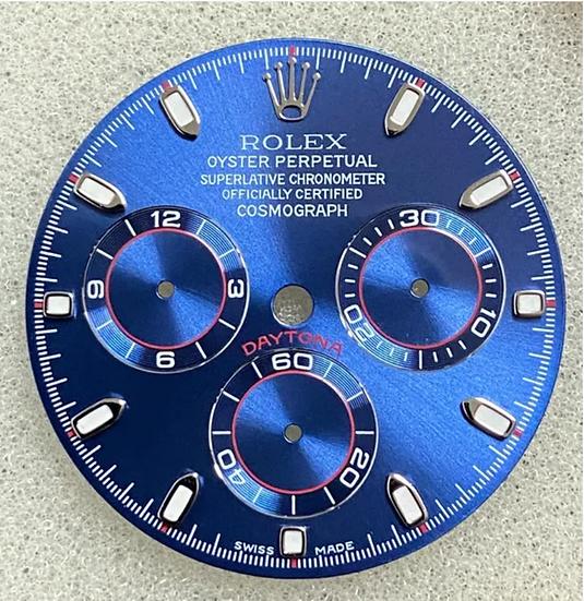 Refined Cosmograph Daytona Blue Racing Dial