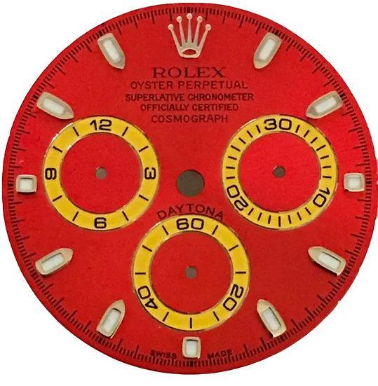 Cosmograph Daytona Red Dial