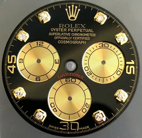 Refined Cosmograph Daytona Black Dial