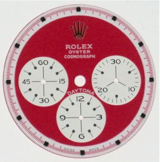 Cosmograph Daytona Paul Newman Red Dial