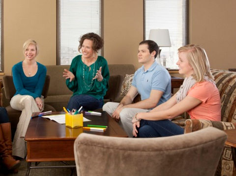 Group therapy for adults, young adults, adolescents, children