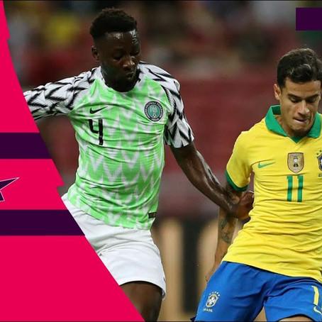 Nigeria vs Brazil Re-told (1:1)